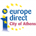 Europe direct City of Athens logo